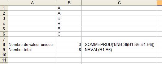 Excel Compter Les Valeurs Distinctes D Une Colonne