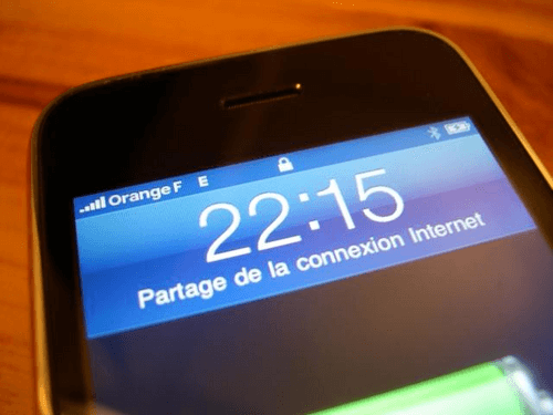connecter son ordinateur  u00e0 internet via la 4g de son t u00e9l u00e9phone