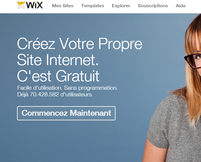 wix   votre site web en mode diy