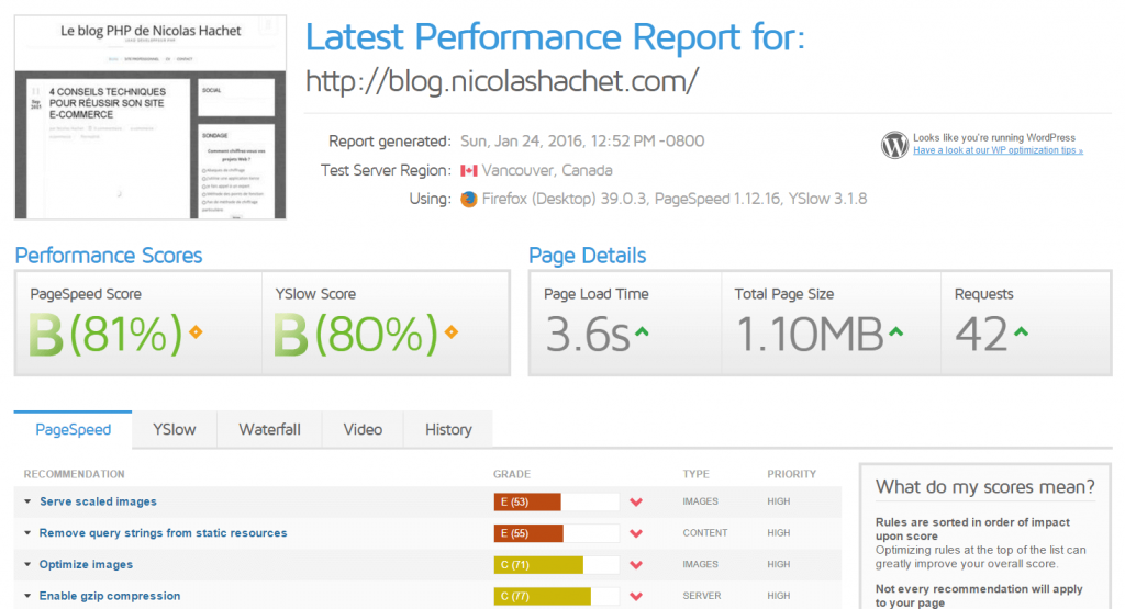 gtmetrix-optimisation-performance-web